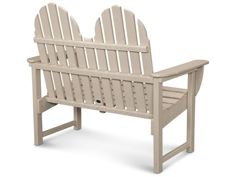 POLYWOOD® Classic Adirondack Recycled Plastic 48 Bench
