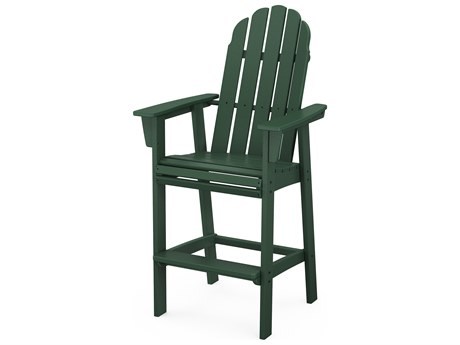 POLYWOOD® Vineyard Recycled Plastic Bar Stool