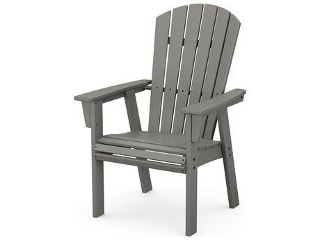POLYWOOD® Nautical Recycled Plastic Adirondack Dining Chair