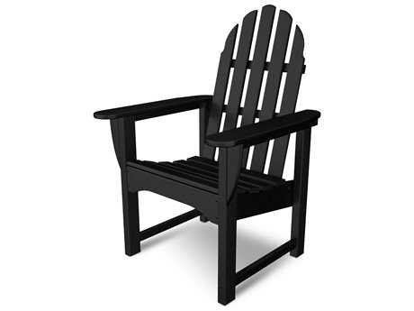 POLYWOOD® Classic Adirondack Recycled Plastic Dining Chair