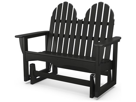 POLYWOOD® Classic Adirondack Recycled Plastic 48 Glider