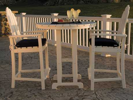 POLYWOOD® Classic Adirondack Counter Height Set