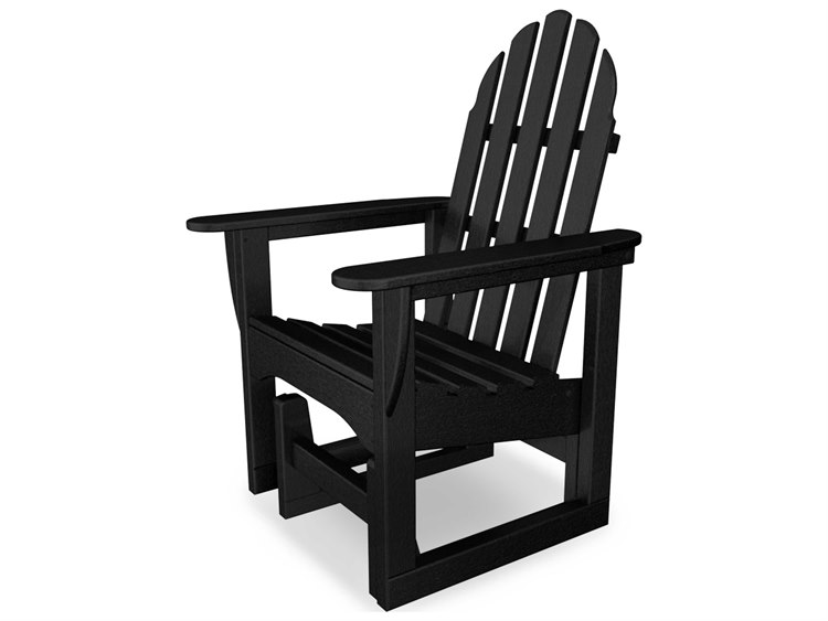 POLYWOOD® Classic Adirondack Recycled Plastic Glider Chair