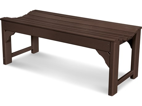 POLYWOOD® Traditional Garden Recycled Plastic 48 Side Bench