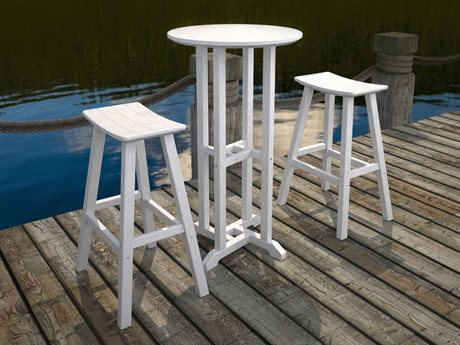 POLYWOOD® Recycled Plastic Bar Set