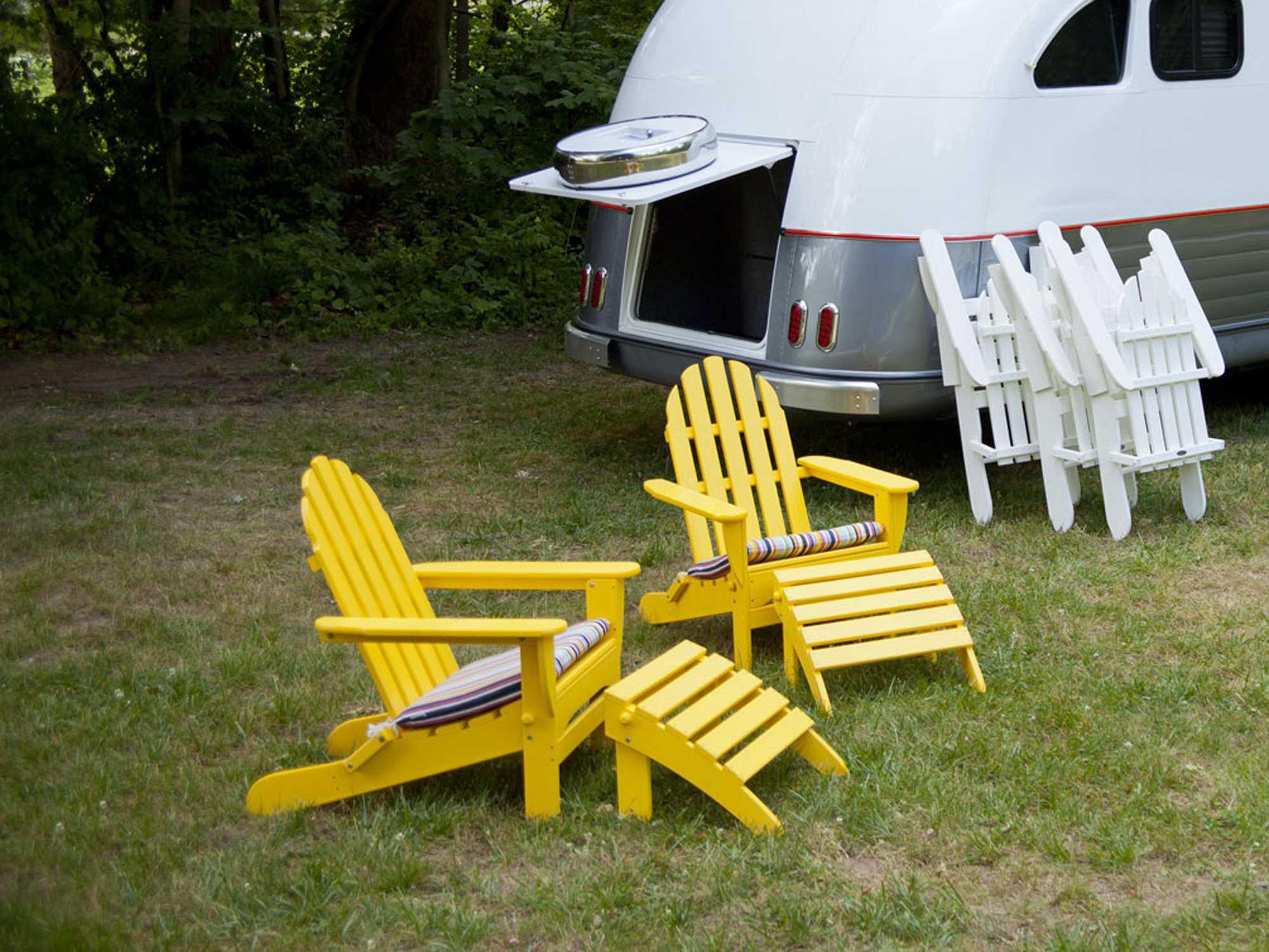 Polywood 174 Classic Adirondack Lounge Set Pwcalngeset