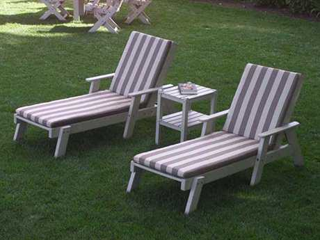 POLYWOOD® Captain Chaise Lounge Set