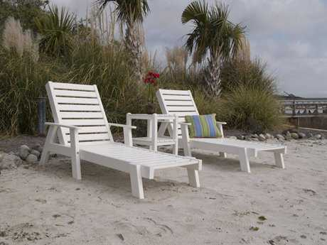 POLYWOOD® Captain Recycled Plastic Chaise Lounge Set