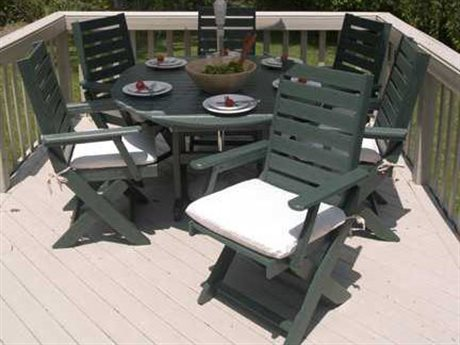 POLYWOOD® Captain Casual Dining Set
