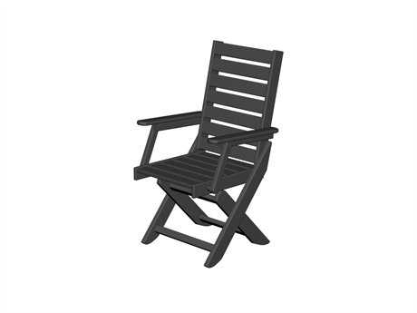 POLYWOOD® Captain Recycled Plastic Arm Dining Chair
