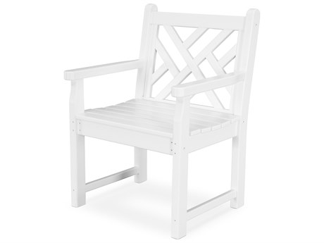 POLYWOOD® Chippendale Recycled Plastic Lounge Chair PatioLiving