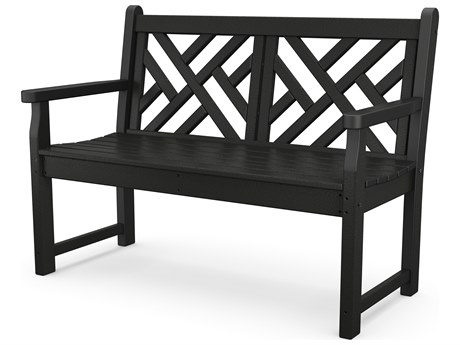 POLYWOOD® Chippendale Recycled Plastic Bench PatioLiving