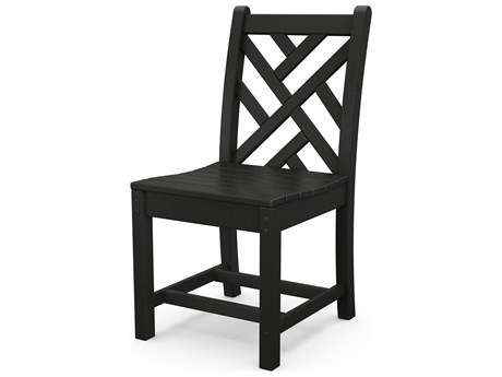 POLYWOOD® Chippendale Recycled Plastic Dining Side Chair