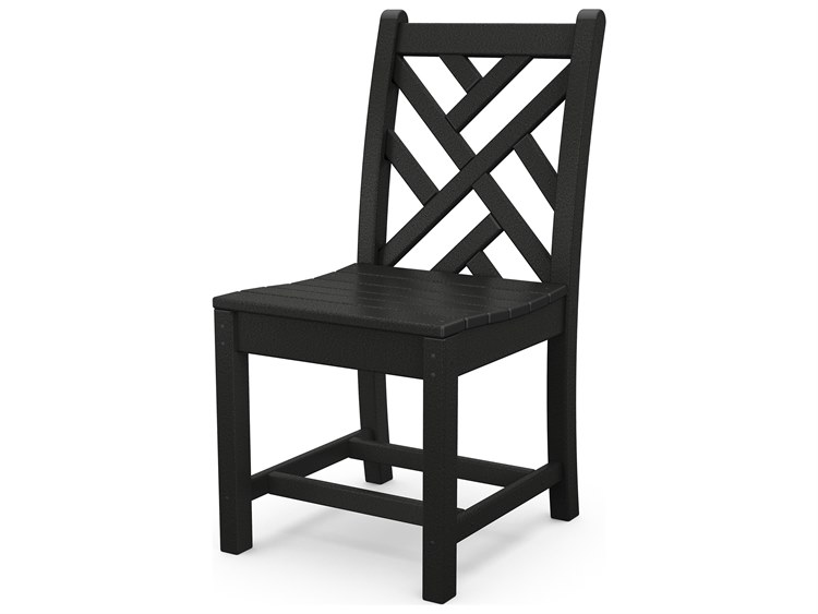 POLYWOOD® Chippendale Recycled Plastic Dining Side Chair PatioLiving