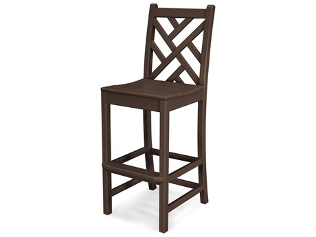 POLYWOOD® Chippendale Recycled Plastic Side Bar Stool