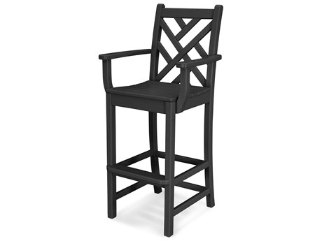 POLYWOOD® Chippendale Recycled Plastic Bar Chair