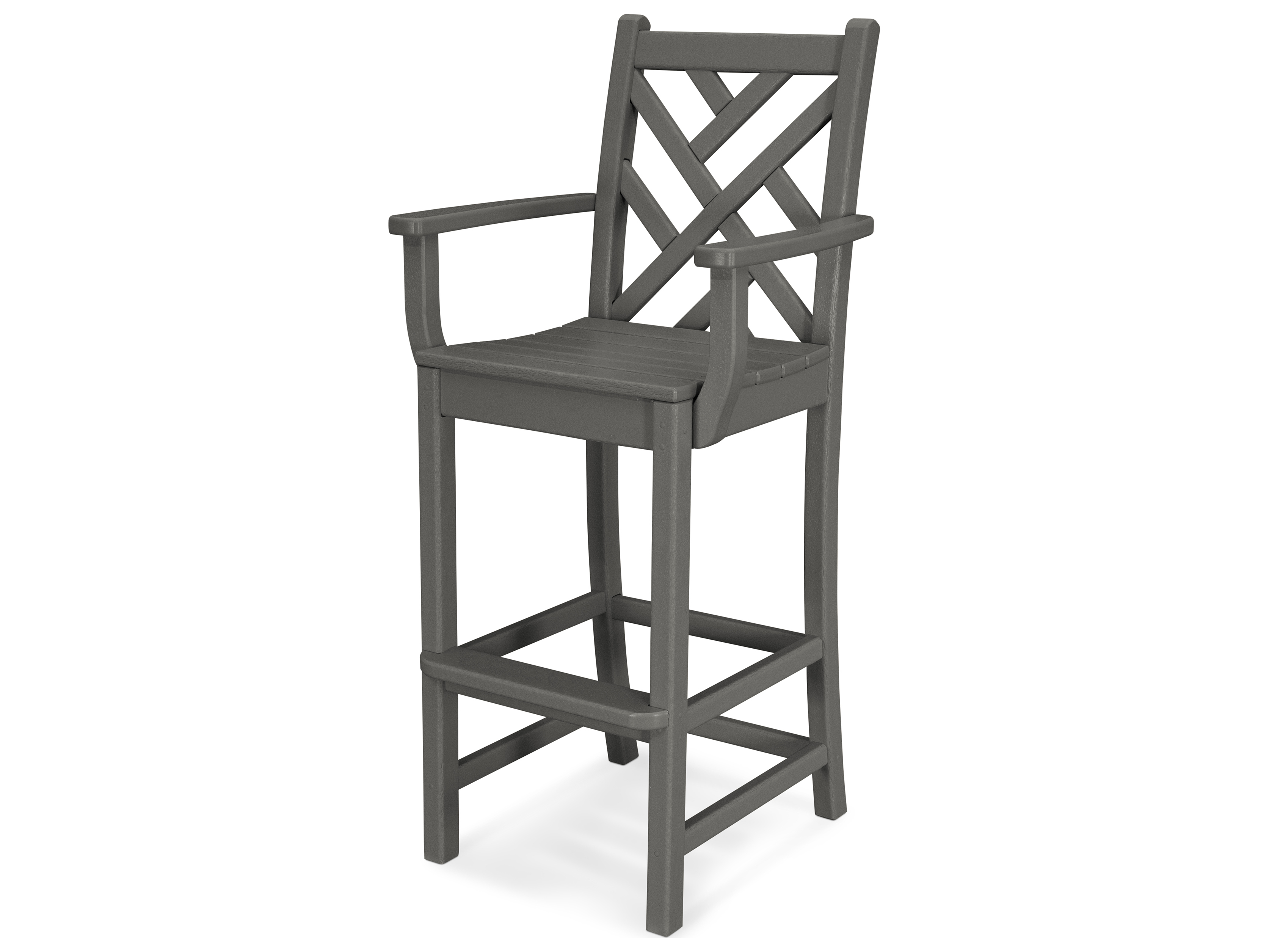 Polywood 174 Chippendale Recycled Plastic Bar Chair Cdd202