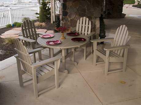 POLYWOOD® Classic Adirondack Dining Set