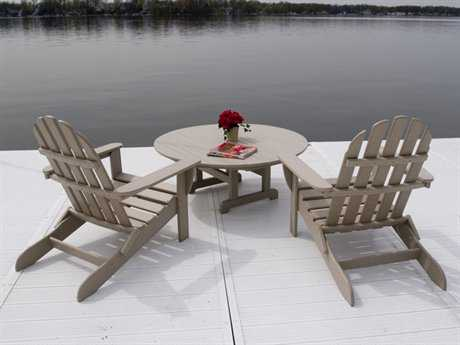 POLYWOOD® Classic Adirondack Recling Chair for 2