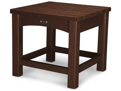 POLYWOOD® Traditional Recycled Plastic 18''Wide Square End Table