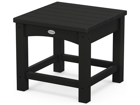 POLYWOOD® Traditional Recycled Plastic 18'' Wide Square End Table