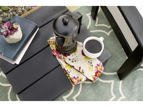 POLYWOOD® Newport Recycled Plastic 18''Wide Square End Table
