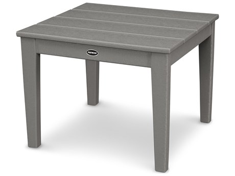 POLYWOOD® Newport Recycled Plastic 22''Wide Squae End Table