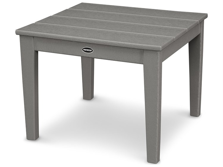 POLYWOOD® Newport Recycled Plastic 22''Wide Squae End Table PatioLiving