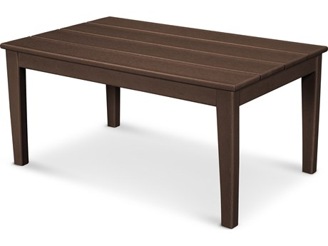 POLYWOOD® Newport Recycled Plastic 36''W x 22D Rectangular Coffee Table
