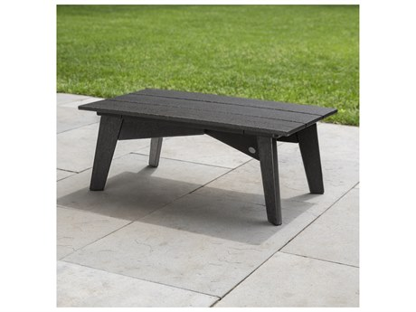 POLYWOOD® Riviera Modern Recycled Plastic 38''W x 36''D Rectangular Coffee Table