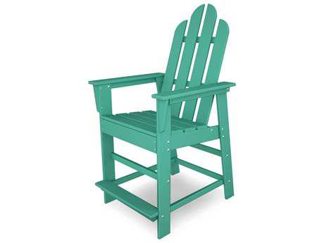 POLYWOOD® Long Island Recycled Plastic Counter Chair PWECD24