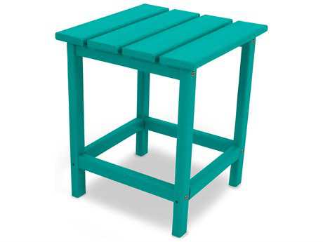 POLYWOOD® Long Island Recycled Plastic 15 Square End Table PatioLiving