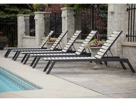 POLYWOOD® Euro Recycled Plastic Chaise Lounge Set
