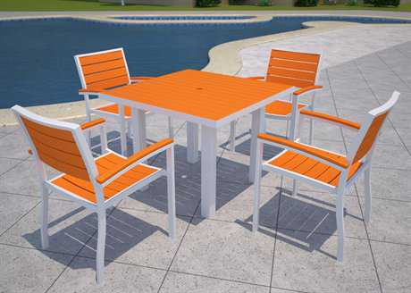 POLYWOOD® Euro Casual Dining Set