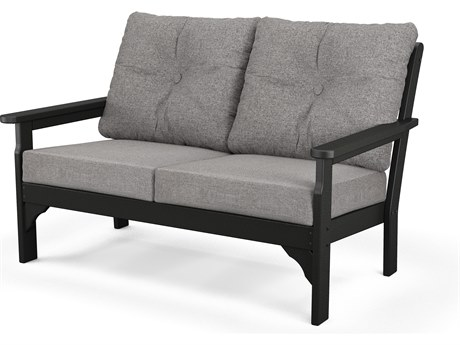 POLYWOOD® Vineyrad Recycled Plastic Deep Seating Settee