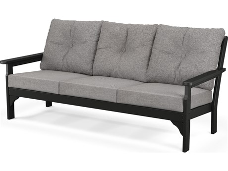 POLYWOOD® Vineyrad Recycled Plastic Deep Seating Sofa