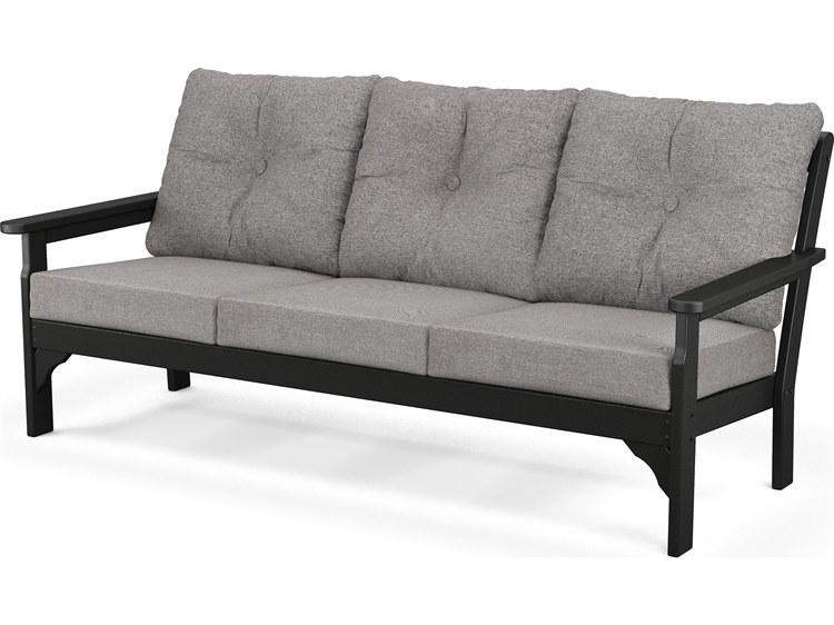 POLYWOOD® Vineyrad Recycled Plastic Deep Seating Sofa PatioLiving