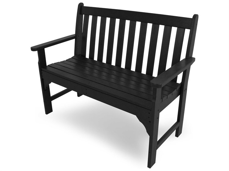 POLYWOOD® Vineyard Recycled Plastic Bench PatioLiving