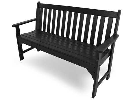 POLYWOOD® Vineyard Recycled Plastic 60'' Bench PatioLiving