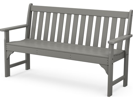 POLYWOOD® Vineyard Recycled Plastic 60'' Bench