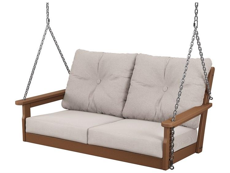 POLYWOOD® Vineyard Recycled Plastic Deep Seating Swing