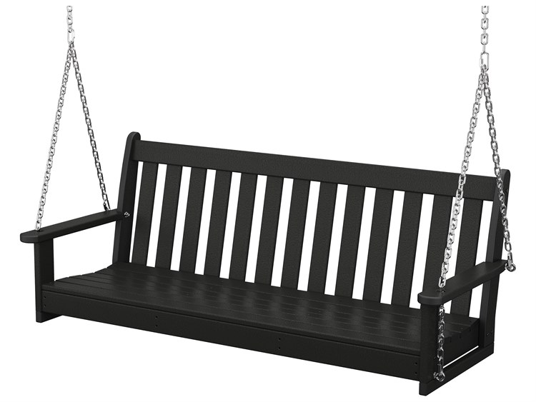 POLYWOOD® Vineyard Recycled Plastic 60 Swing with Chain