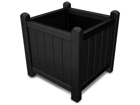 POLYWOOD® Traditional Garden Recycled Plastic 16 Planter PatioLiving