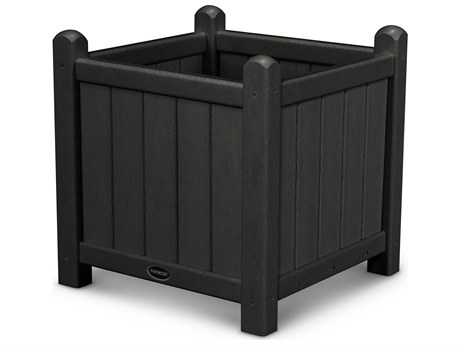 POLYWOOD® Traditional Garden Recycled Plastic 16 Planter