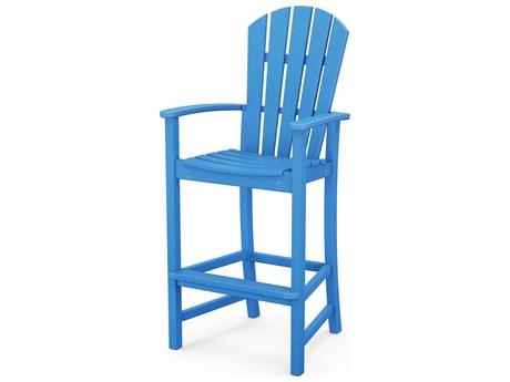 POLYWOOD® Palm Coast Recycled Plastic Bar Chair