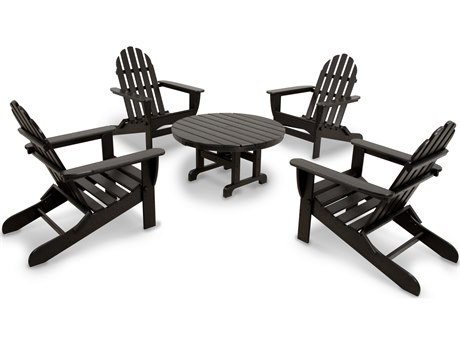 POLYWOOD® Ivy Terrace Recycled Plastic 5-Piece Lounge Set