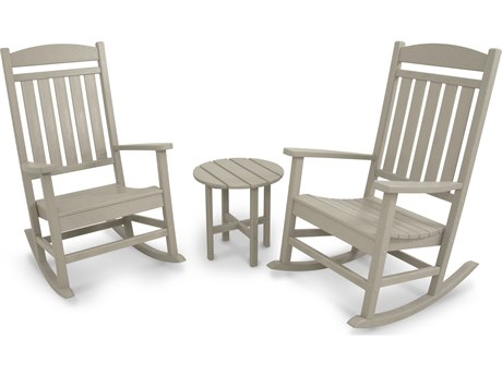 POLYWOOD® Ivy Terrace Recycled Plastic 3-Piece Lounge Set