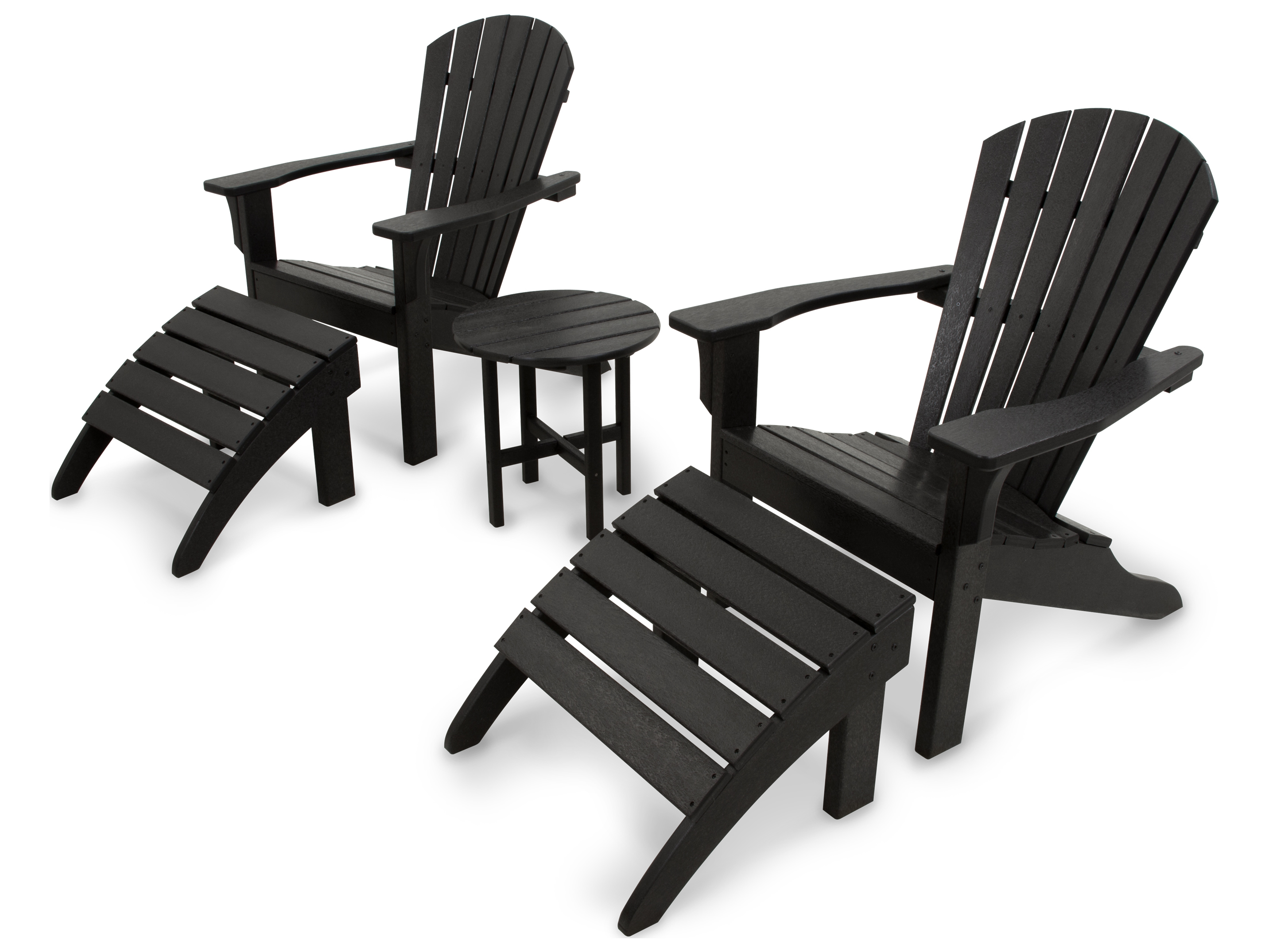 Polywood 174 Ivy Terrace Recycled Plastic Lounge Set Pwivs1171