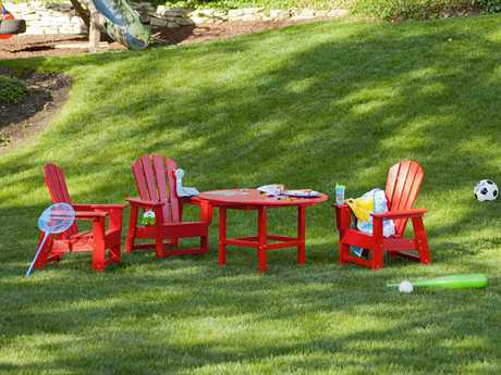POLYWOOD® Kids Recycled Plastic Dining Set