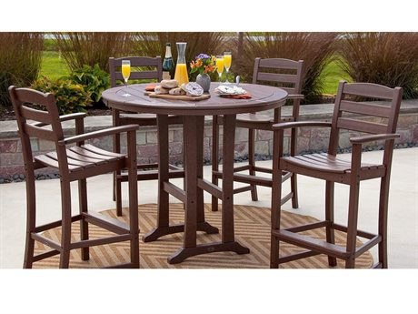 POLYWOOD® La Casa Cafe Recycled Plastic Bar Set